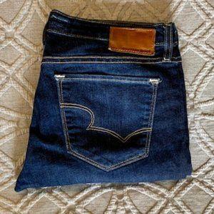 Big Star Remy Low Rise Dark Wash Crop Jean